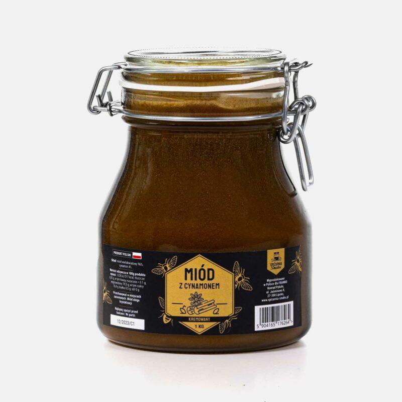 miód z cynamonem 1000g
